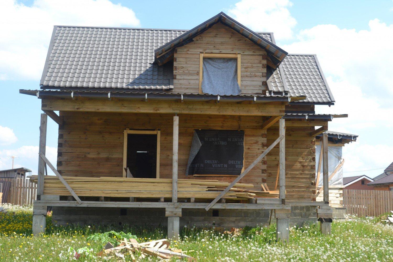 Дом по проекту БД-25