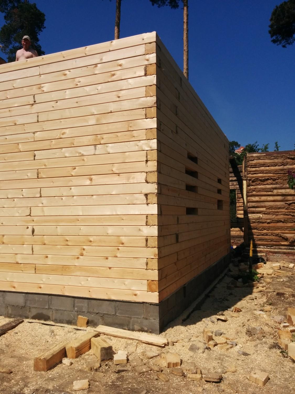 Строительство домов из бруса под 65