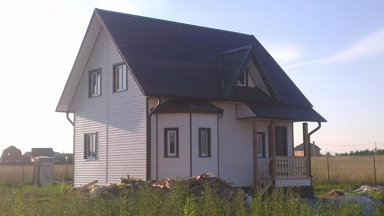 дом 7 х7 из бруса