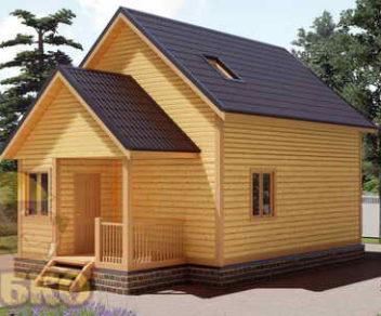 Дом из профилированного бруса 6х9